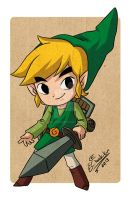 Link- TLOZ: The Wind Waker by Chaak-kun