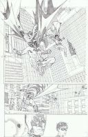 BATMAN and ROBIN by timothygreenII