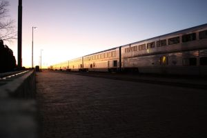 Amtrak, Not the Super Chief by desertdogh