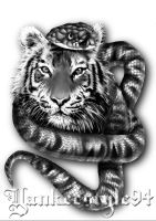 Tigersnake TATTOO by Yankeestyle94