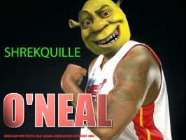 Shrekquille o'neal by Marshmllow89