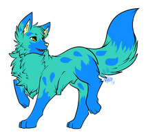 Water Wolfsky Adopt closed by RayTheBishie