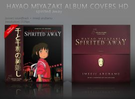 Spirited Away (Chihiro) Album Covers HD by shinobireverse