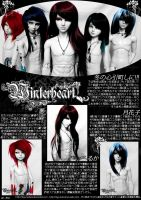 Winterheart Magazine Spread by Fuyunobara