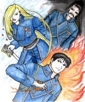 FMA - Military Leaders by Darizard