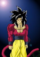 Goku ssj 4 by kingvegito