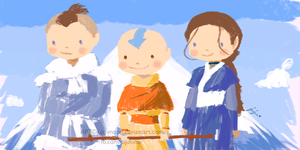 Happy Birthday ATLA by Juju-Moon