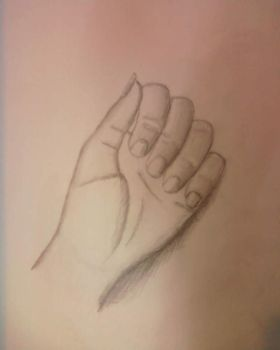 Hand Scetch by Arsuyali