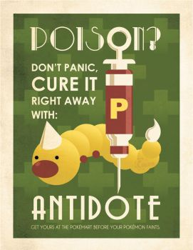Antidote advertising poster by Chuz0r
