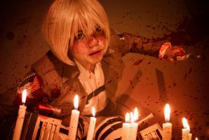 Armin Arlert: Got to Kill by Lishrayder