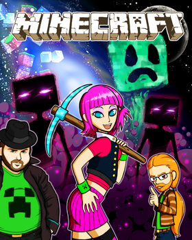 The Minecraft Gang by zson