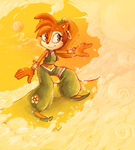 What if: Sally Acorn by MikoChan