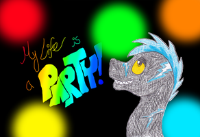 Blutsplitter Birthday Gift- My Life is a Party! by Sooty123