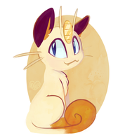 Meowth by Hollulu