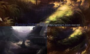 Fantasy concept paintings! by Gman20999