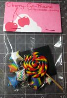 Misc. - rainbow lolli keychain by ShiversTheNinja