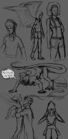 AE Sketch dump by May5Rogers99