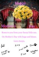Mother's Day Card Basic by dickiejaybird