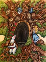 Alice in Wonderland by TeresaMurphy