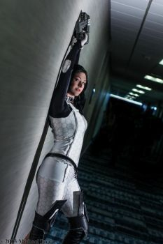 :Mass Effect: Miss Lawson by AlouetteCosplay