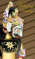 Wayang Golek Puppet by indonesia