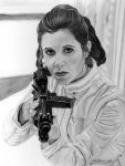 Bespin Escape Leia by khinson