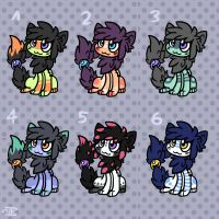 Bokehttes Adopts-ALL TAKEN by Spashai
