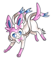 Sylveon by WildInParadise