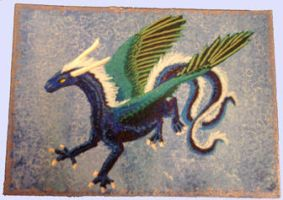 ACEO dragon by Alhippa