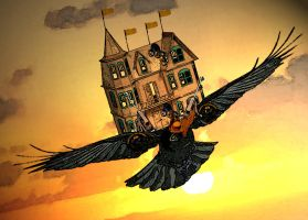 Crow City by MollyD