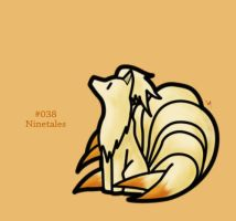 #038 - Ninetales by FrostTechnology