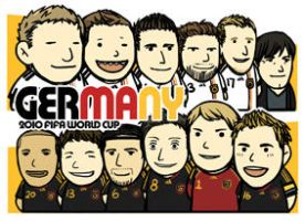 2010fifa germany team by neoineon