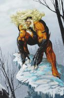 Sabretooth to be added to Power Girl Image by tintallin