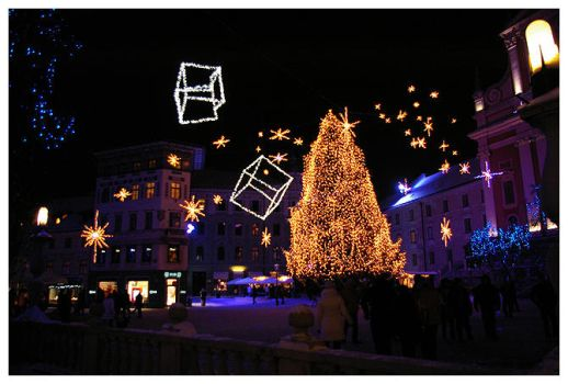 christmas ljubljana II by mourningair