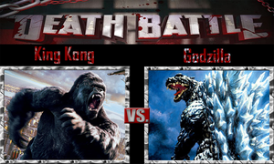 King Kong vs Godzilla by SonicPal