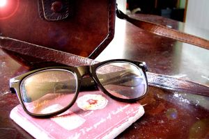 my glasses by leendersphotography