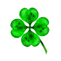 fractal Manip. Stock - four-leaf-clover by rockgem