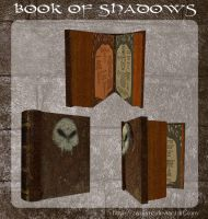 3D Book Of Shadows by zememz