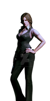 Helena - Resident Evil 6 - Professional Render by Allan-Valentine