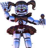Sister Location - Circus Baby by Toasted912