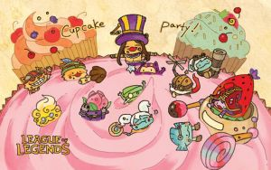 LOL - cupcake party by Sim-Song