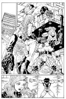 Fantastic Four tryout page by Dogsupreme