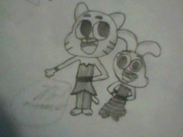 Gumball and Anais #4 by MigsGarcia5127