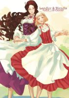 APH: Landler and Dirndls by LaynaFeynreique