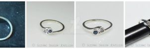 two become one engagement ring by WallaceReg