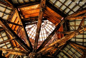 Abandoned Blacksmith Shop - Ceiling by cjheery