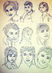 Many Faces of An Actress by GraceDoragon