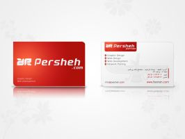 Persheh Business Card Sample 2 by mehrdadsml