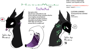 FeatherMask Auction 2 by MUTTD0G