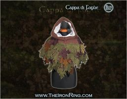 Hood with leaves by TheIronRing